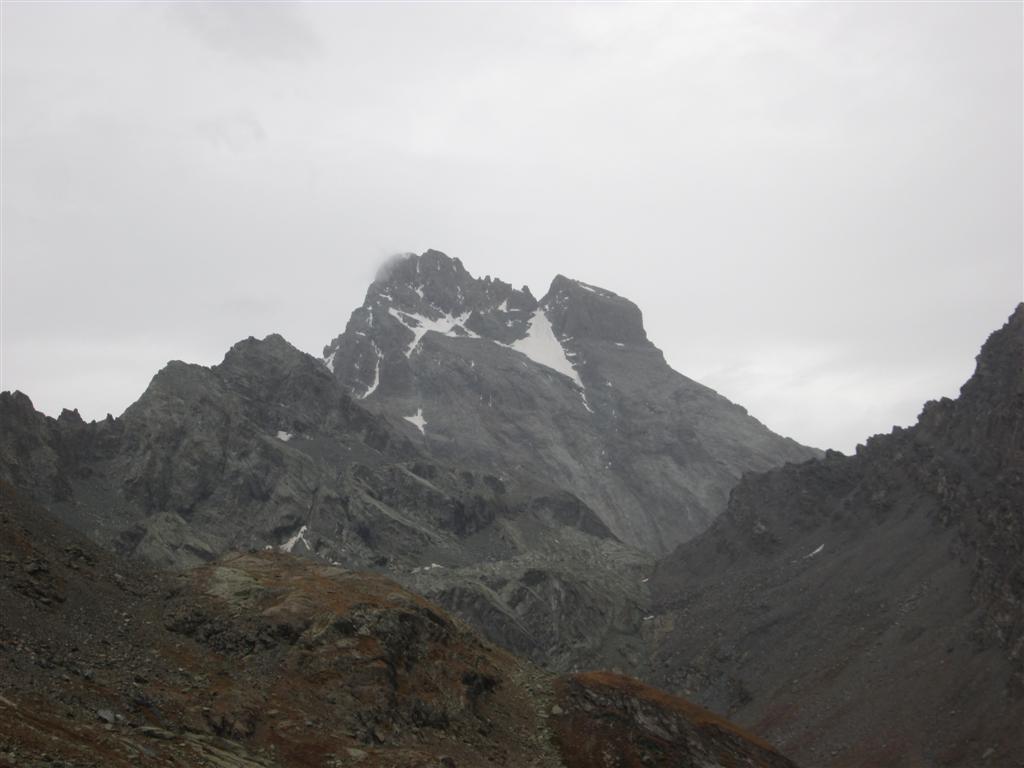 Le Viso (3841m), depuis le colle de Seillière (2851m)