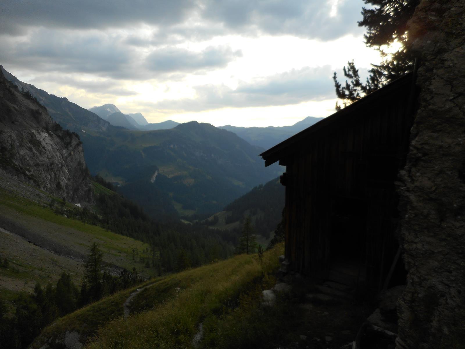 Notre 1er bivouac, l'Ammertenhütte,tout confort
