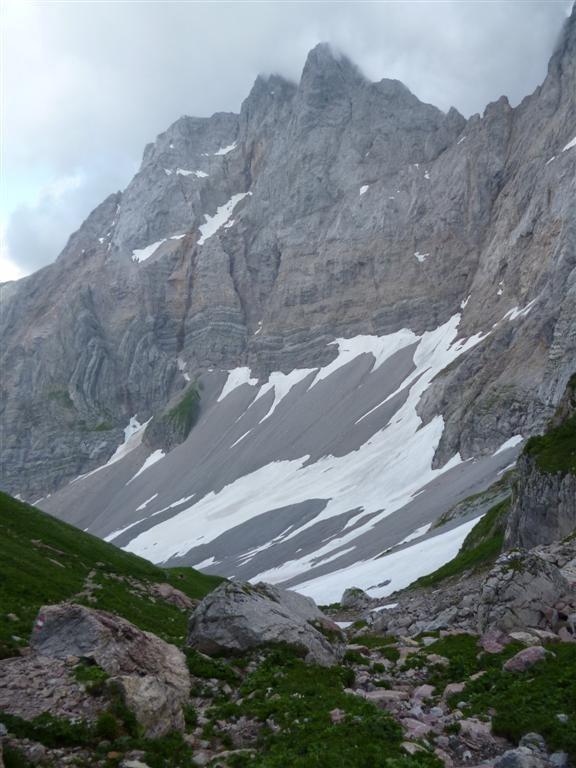 Au col de Valentintörl (2138m)