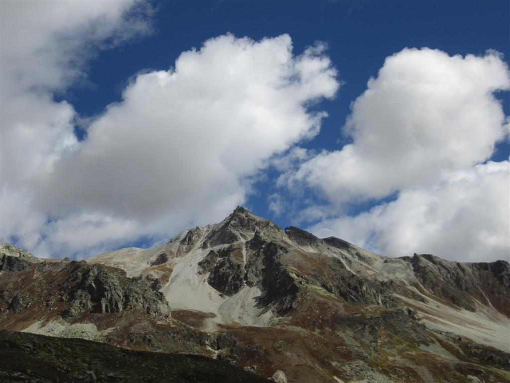 La Punta di Cervet (2910m, val Maurin)