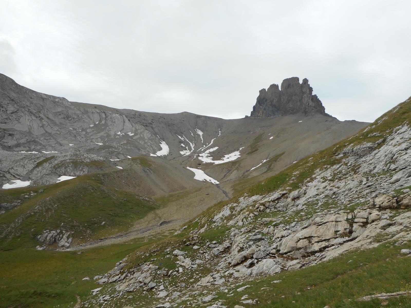 pour remonter sous le Tschingellochtigore (2735m)