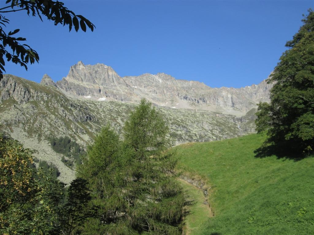 Sur le chemin, entre Noasca et Ceresole