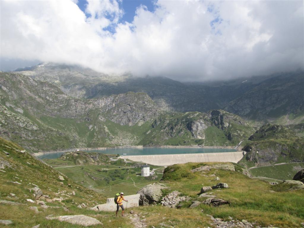Montée au dessus du lac de Robiei (1891m)