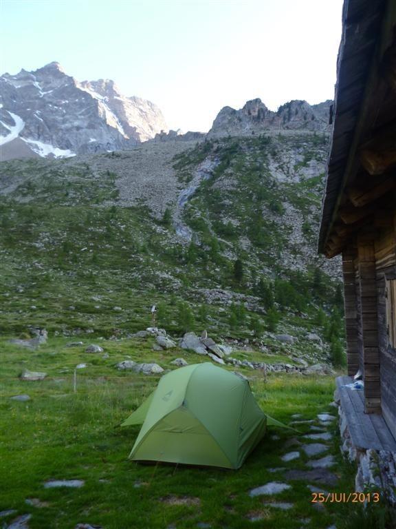 Bivouac à l'alpage Gelltal alm Innere (2070m)