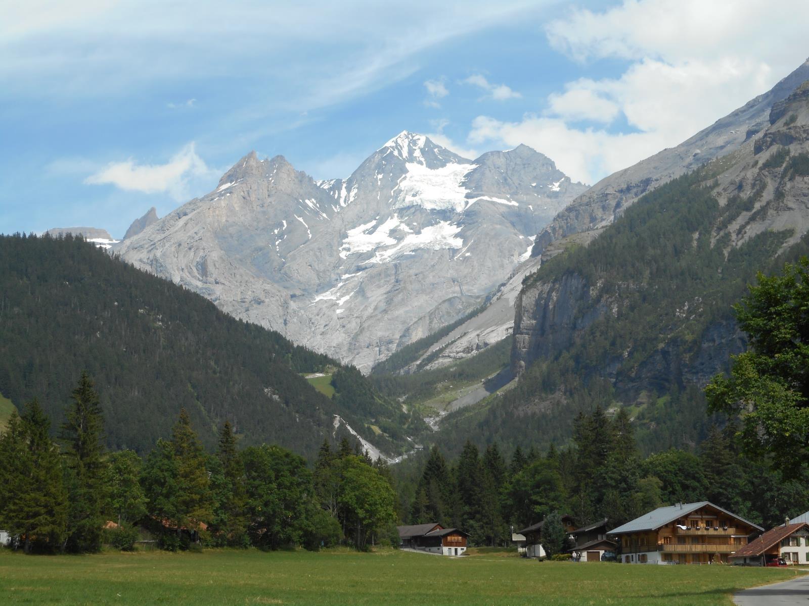 Et descendre sur Kandersteg (1180m)