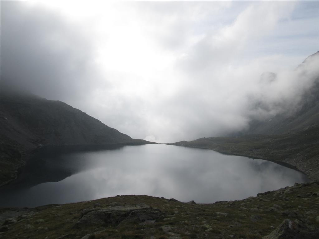 Le Lago Negro (2560m). Variante