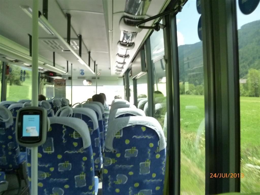 En bus jusqu'à St Martin via Welsberg