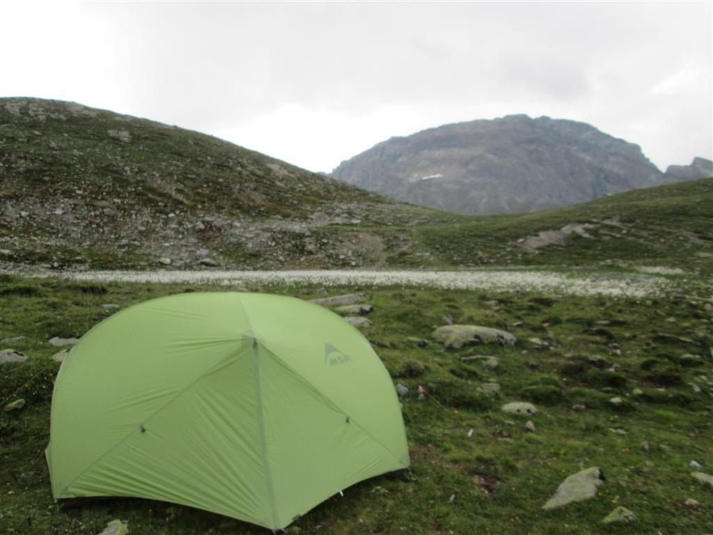 Le bivouac (2450m)