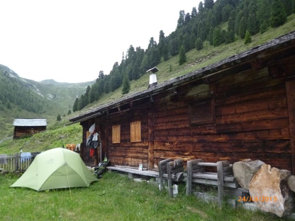 Bivouac dans le hameau de Ochsenfeldalm (2104m)