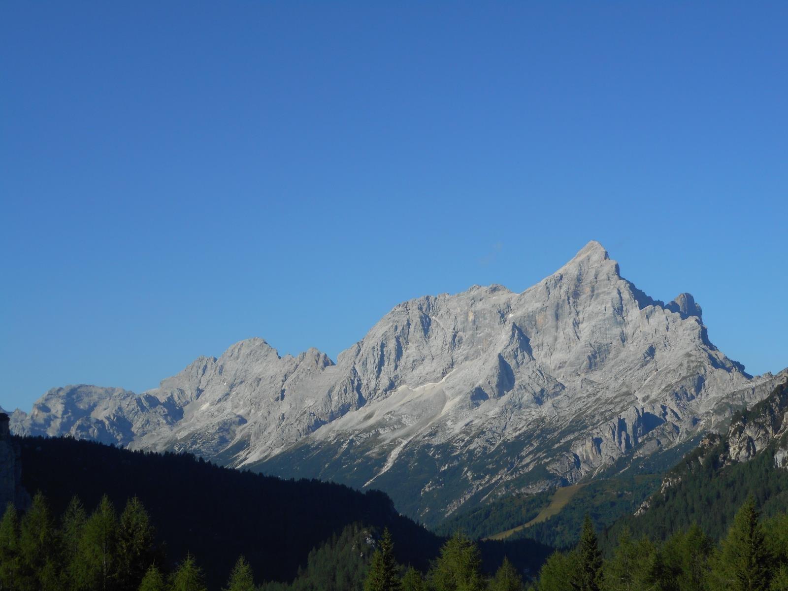 Ainsi que la Civetta (3220m)