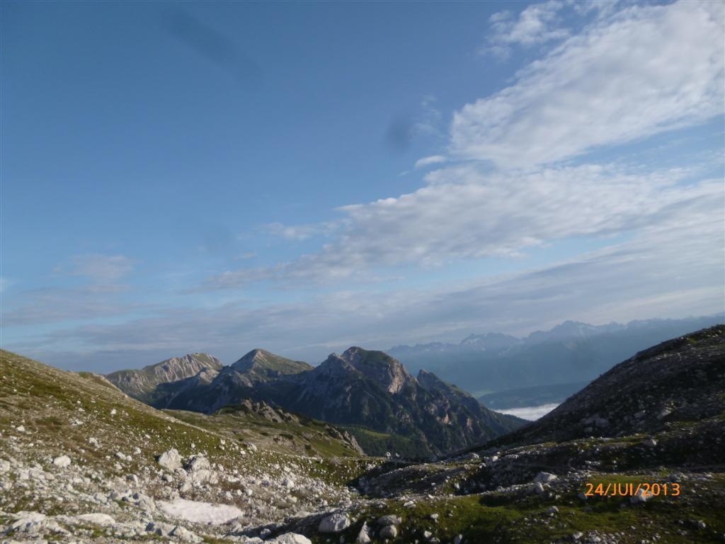 Paysage sous le Caisele (2400m)
