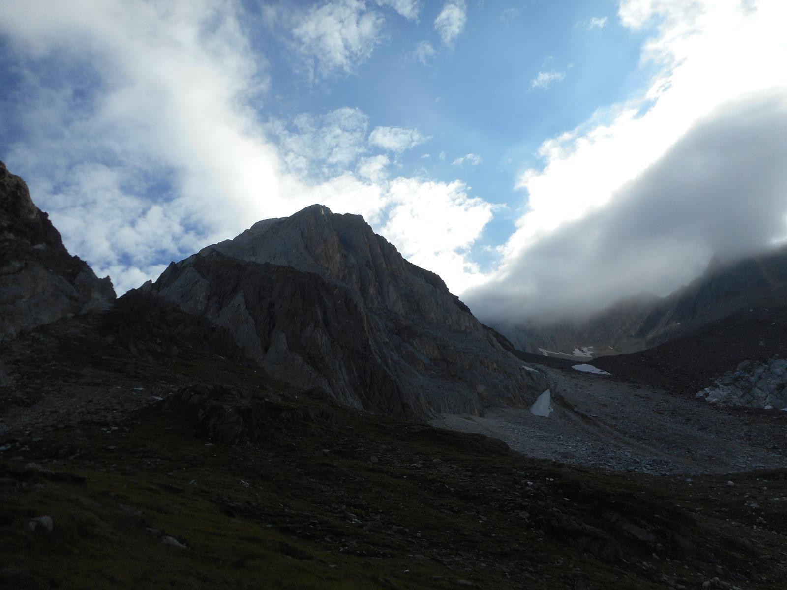 Descente sur Lodnerhütte