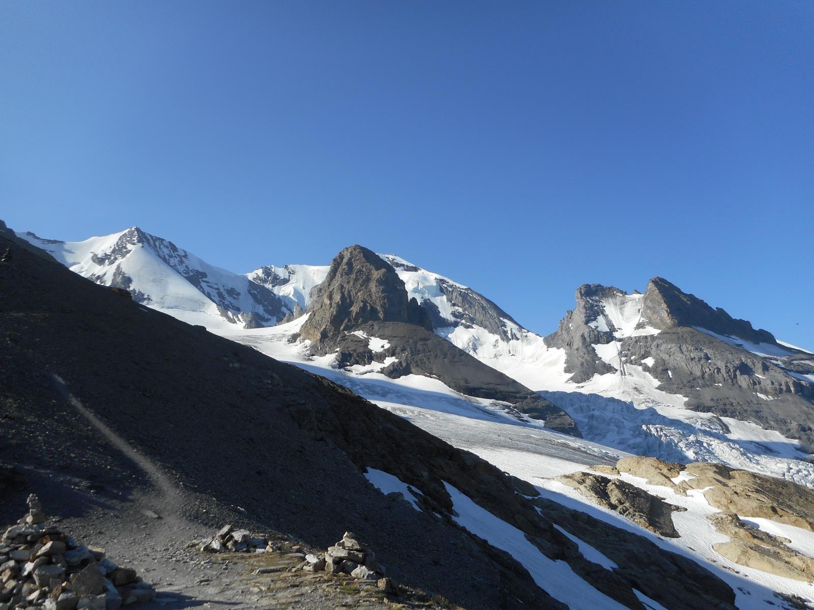 Dodelhorn et Gspaltenhorn (3436m)