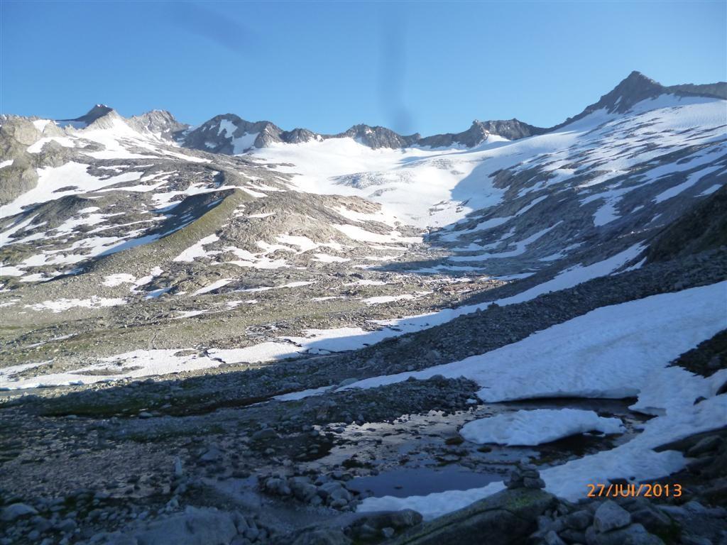 Parcours alpin vers le refuge d'Eisbruggjoch (2545m)