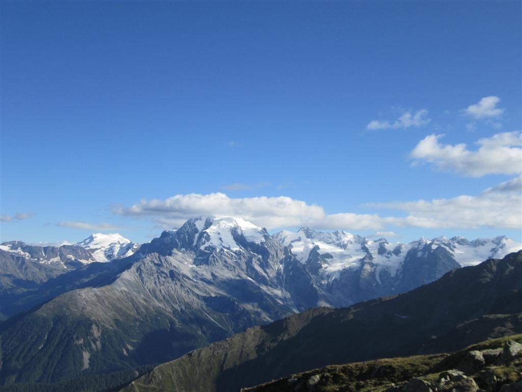 Massif de l'Oetler depuis le pic Chavalatch (2763m)