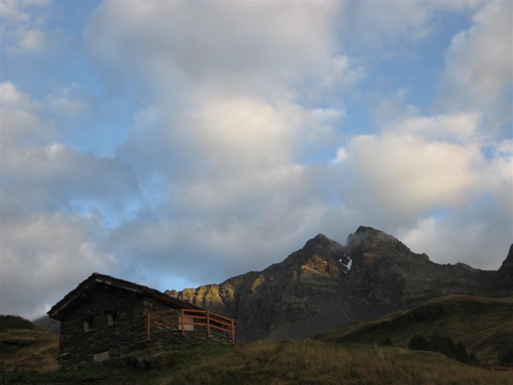 Lever de soleil depuis l'Alpe Borghetto