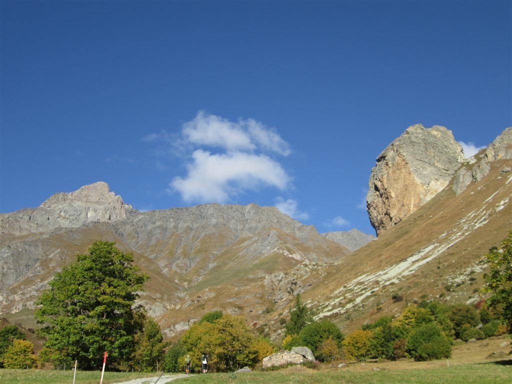 Roca Sengi (2450m), vallée de Bellino