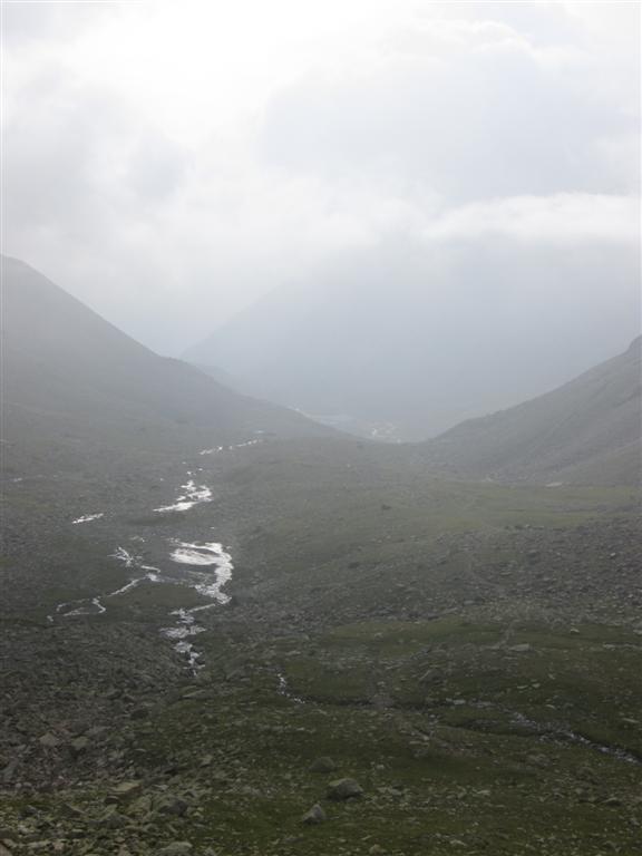 Vallon vers le Lago Di Res, jonction Via Alpina sous le passo di Vermolera