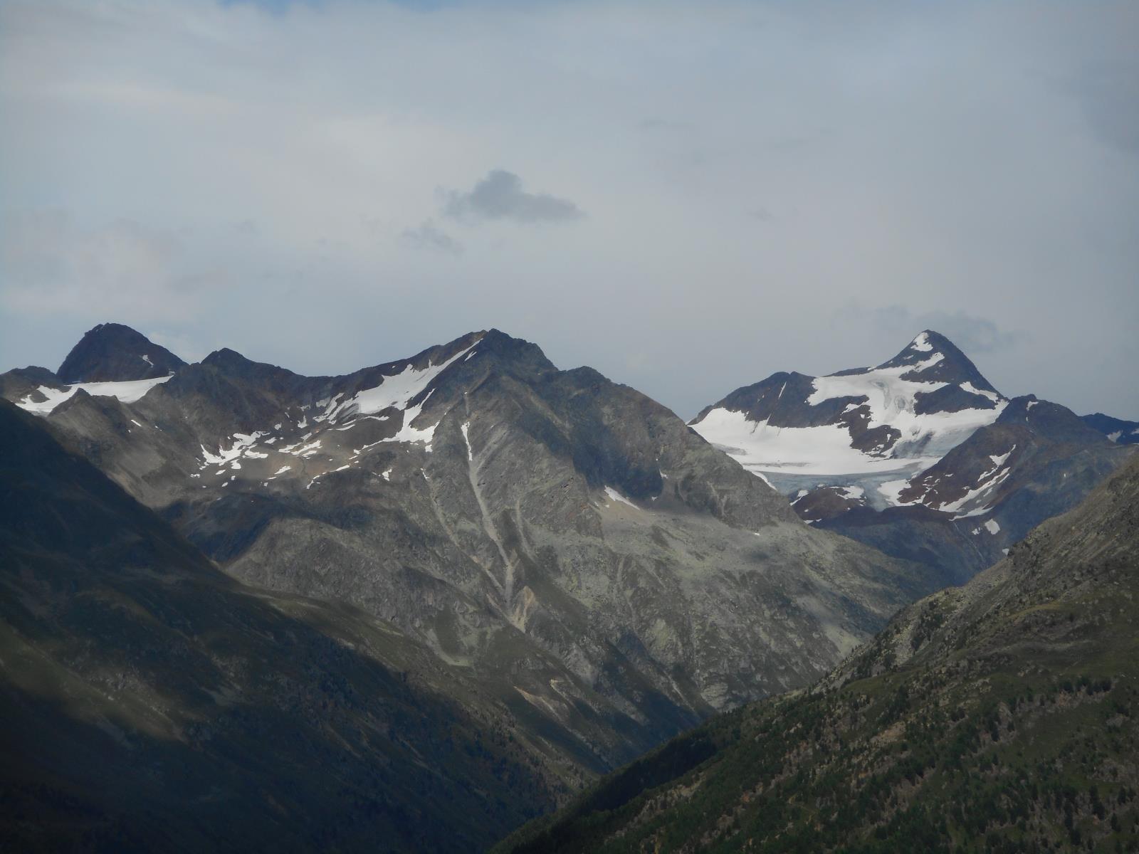 Vue vers le Similaun (3536m)