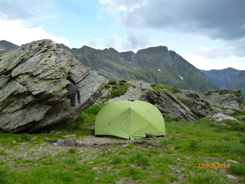 Bivouac à l'Engbergalm (2200m) (variante)