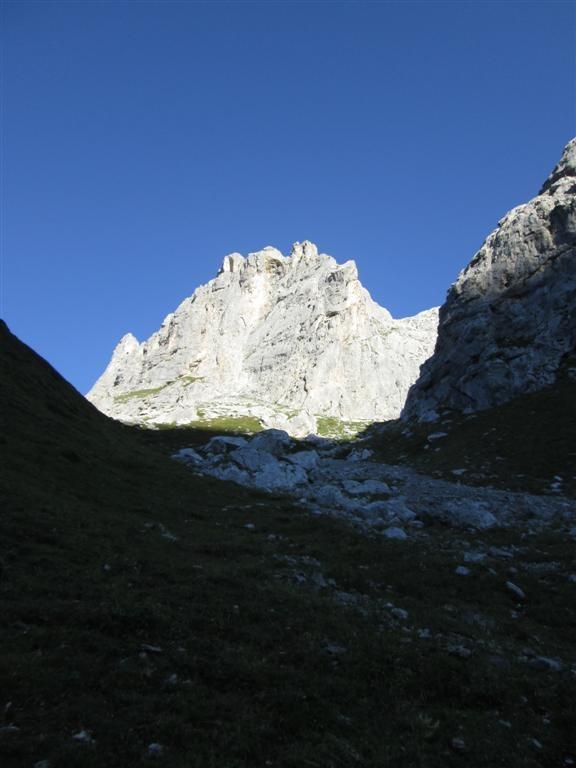 Variante, en route vers les Grüobenpass
