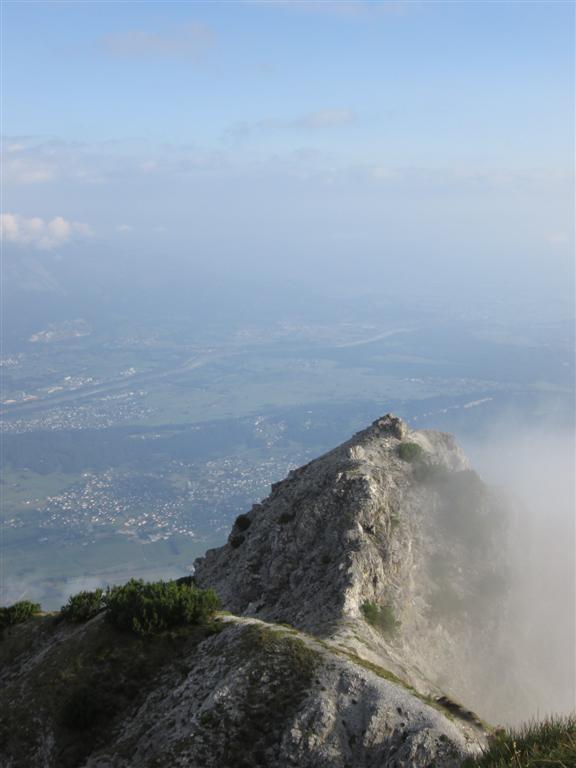 Drei Schroestern (2052m) et vallée du Rhin