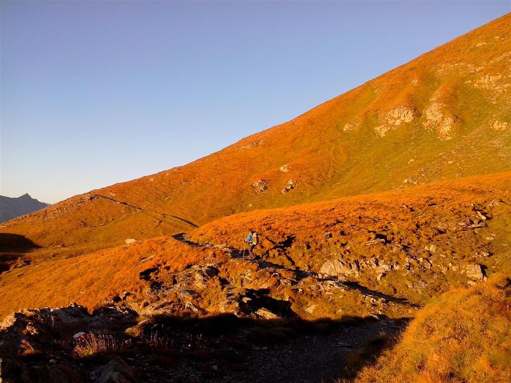 En route pour une des plus belles journées de cette Via Alpina