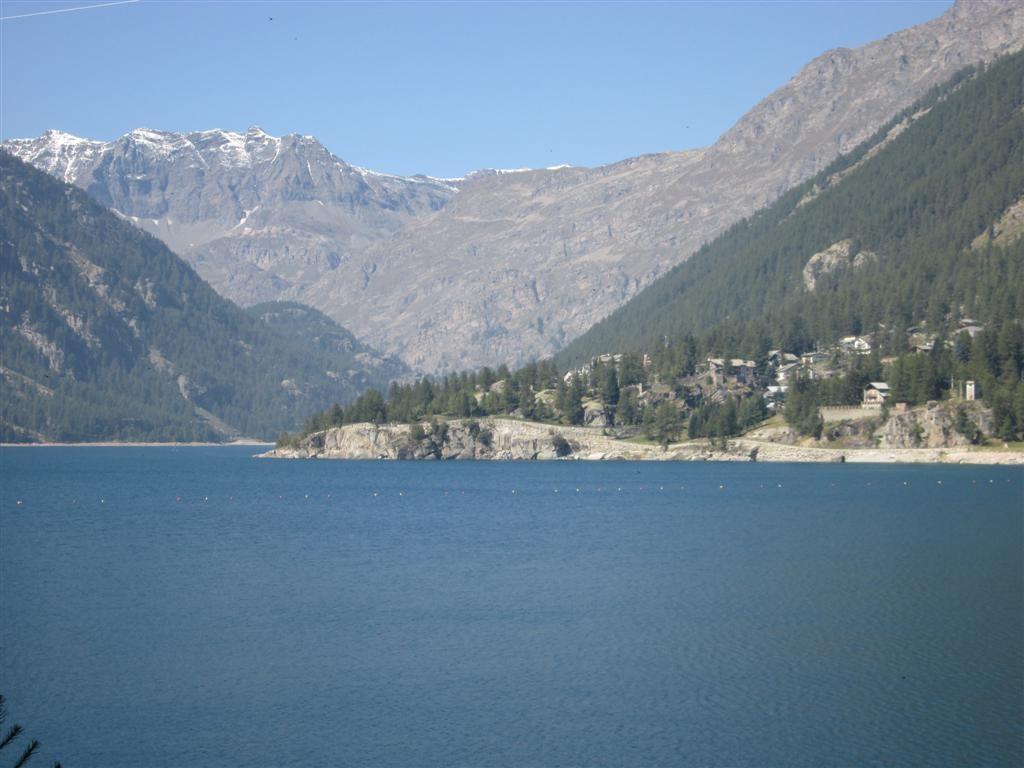 Le lac de Ceresole Reale