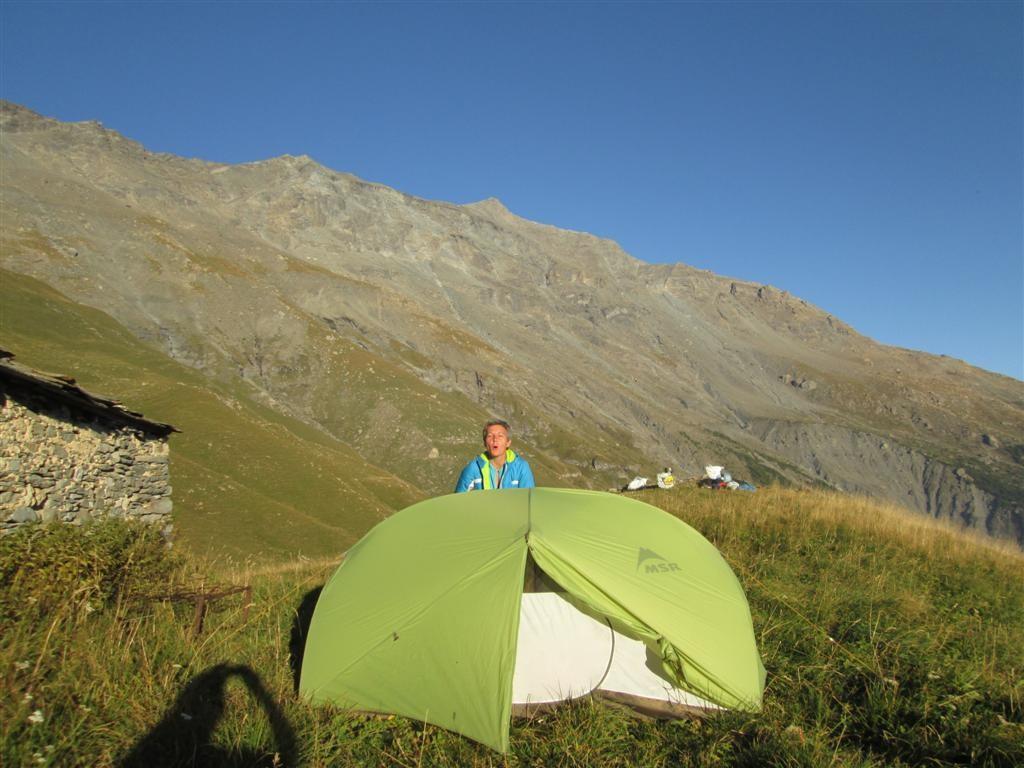 23/09, un bivouac à 2000m où l'on pourra rester dehors jusqu'au coucher du soleil !