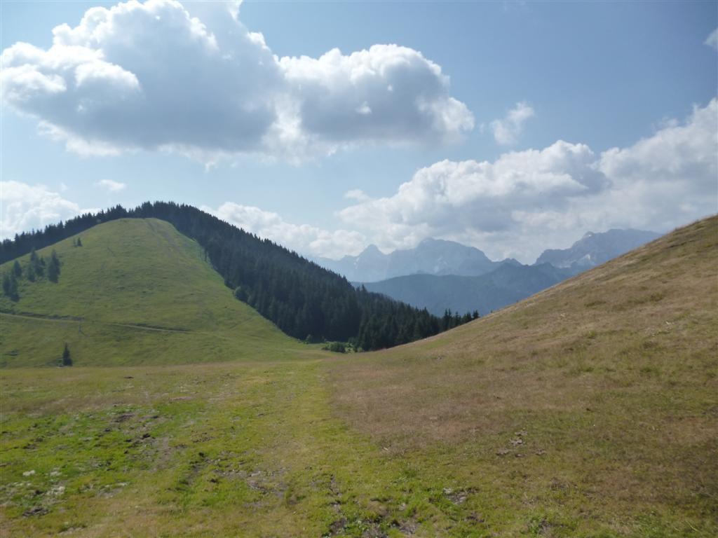 La frontière austro-italienne, près de Dreilandereck