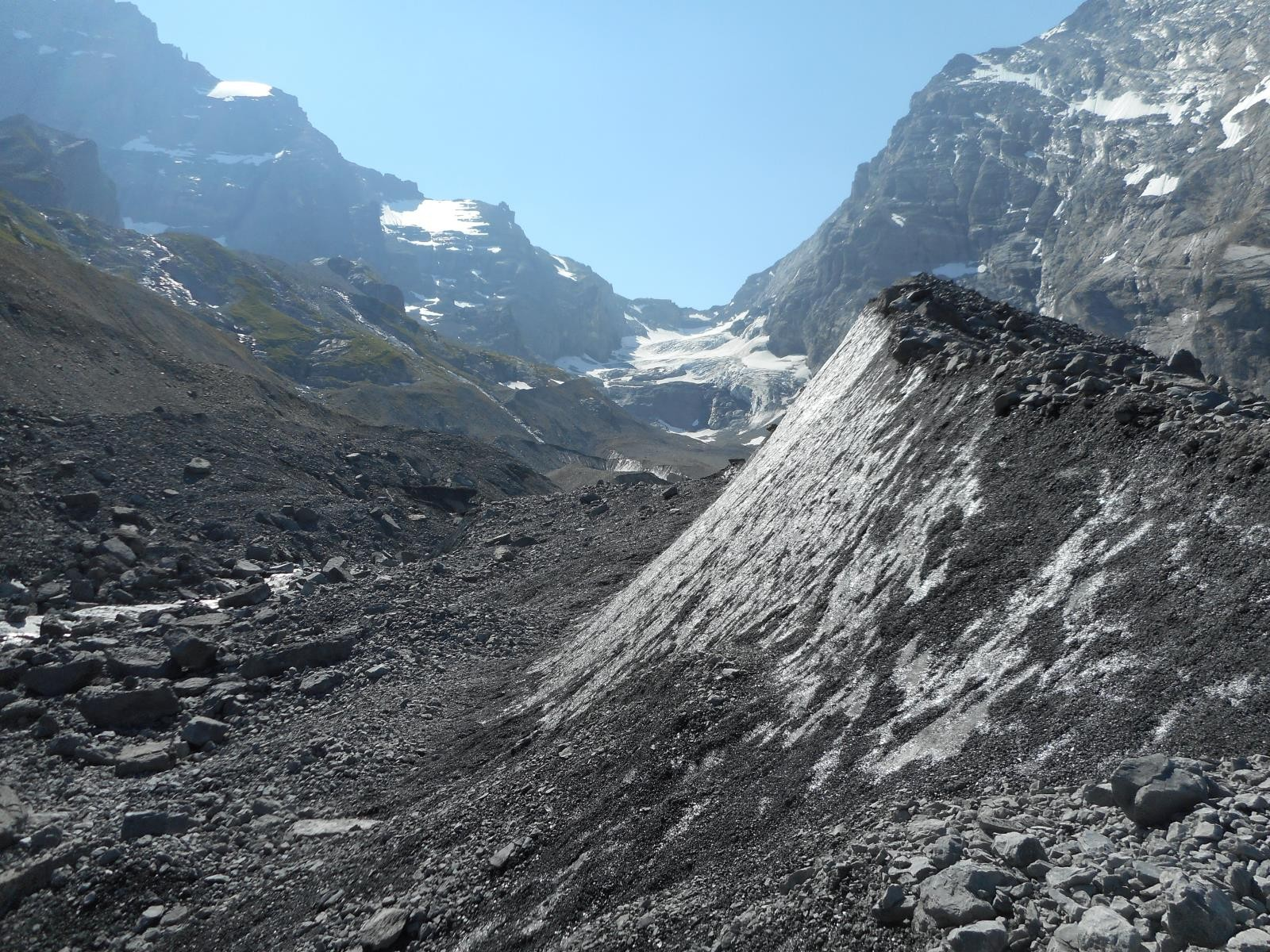 Glacier noir ...