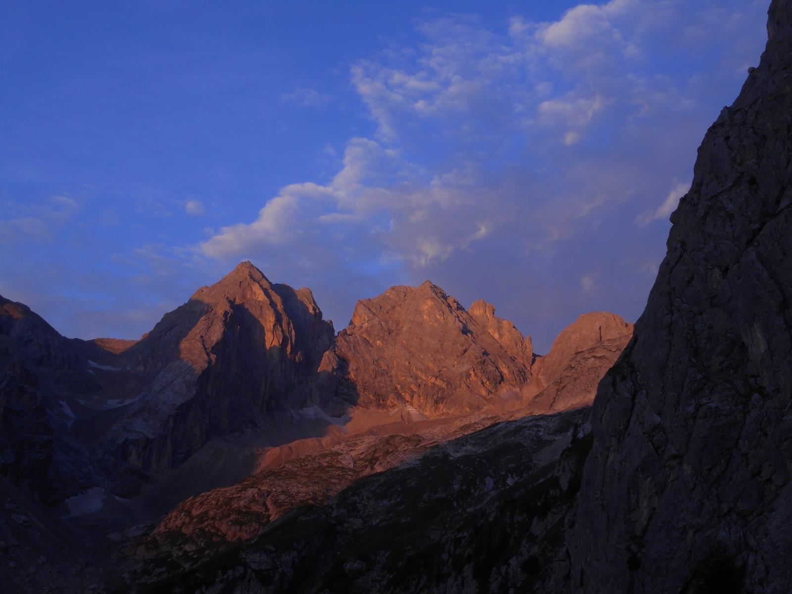 Val Ombretta, Sas de Valfreida (3009m)