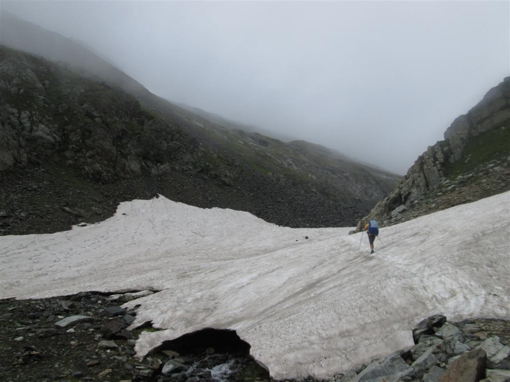 Montée au passo di Muretto (2562m)