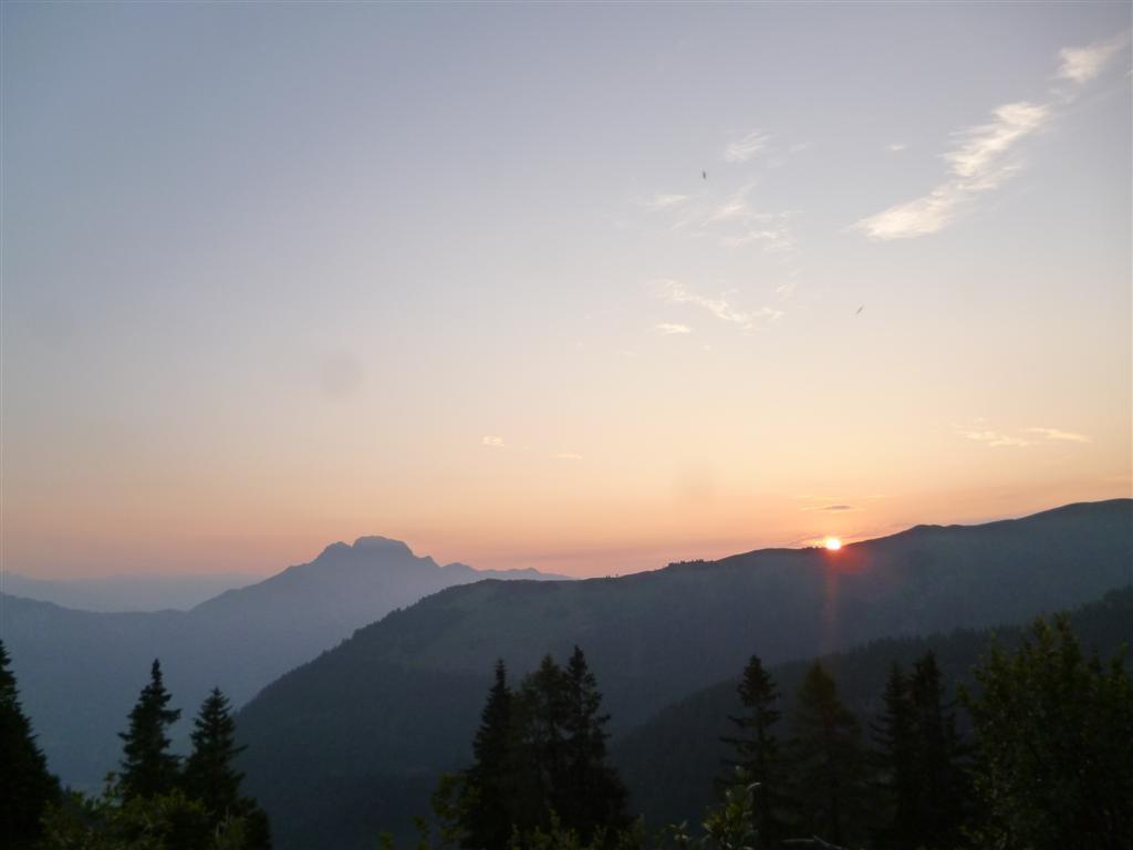 Un beau lever de soleil ... parmi tant d'autres !