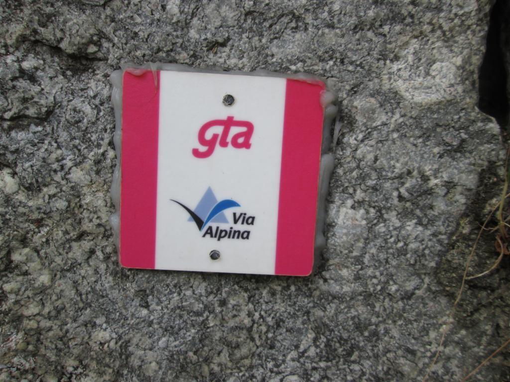 Via Alpina, GTA, même combat