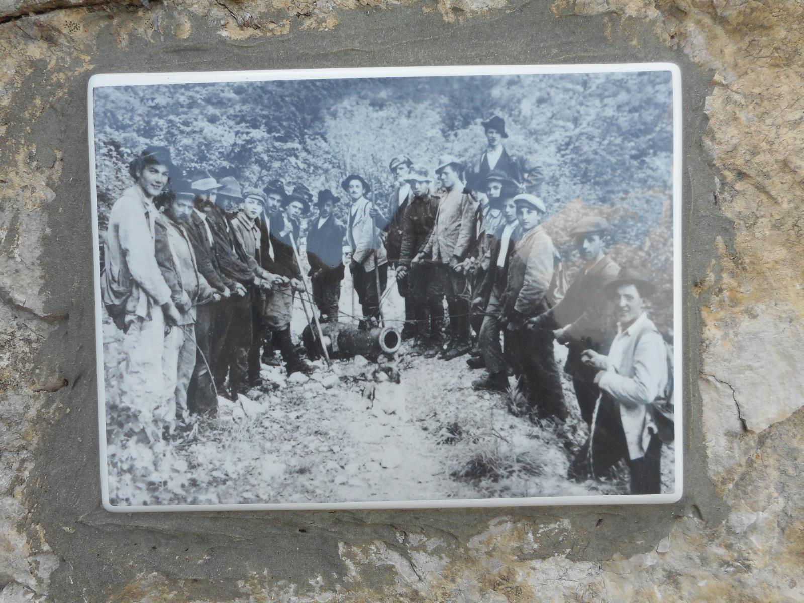 Le plateau fut lui aussi entièrement militarisé par les autrichiens en 1914