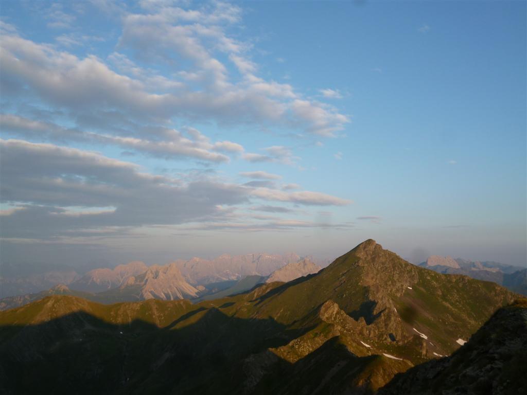 Les crêtes vers le Hoschpitz (2581m)