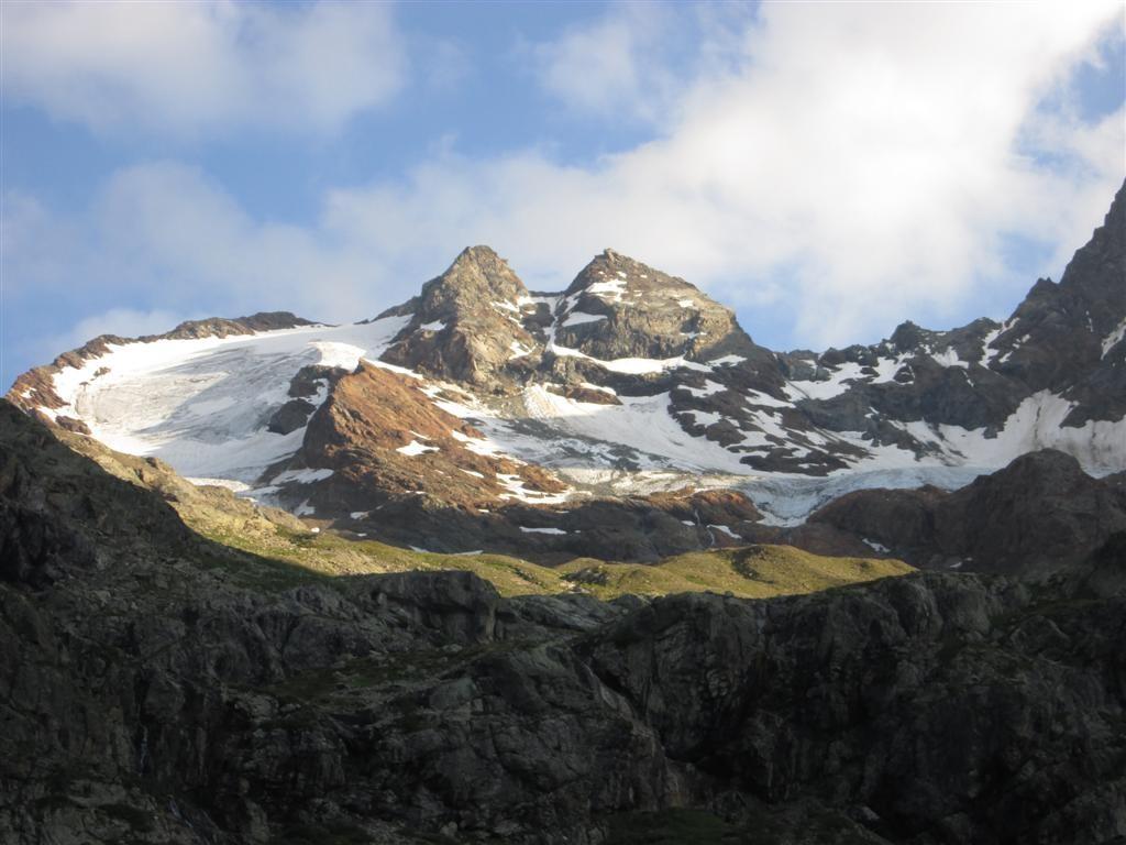 La Cima Lago Spalmo (3150m). Variante