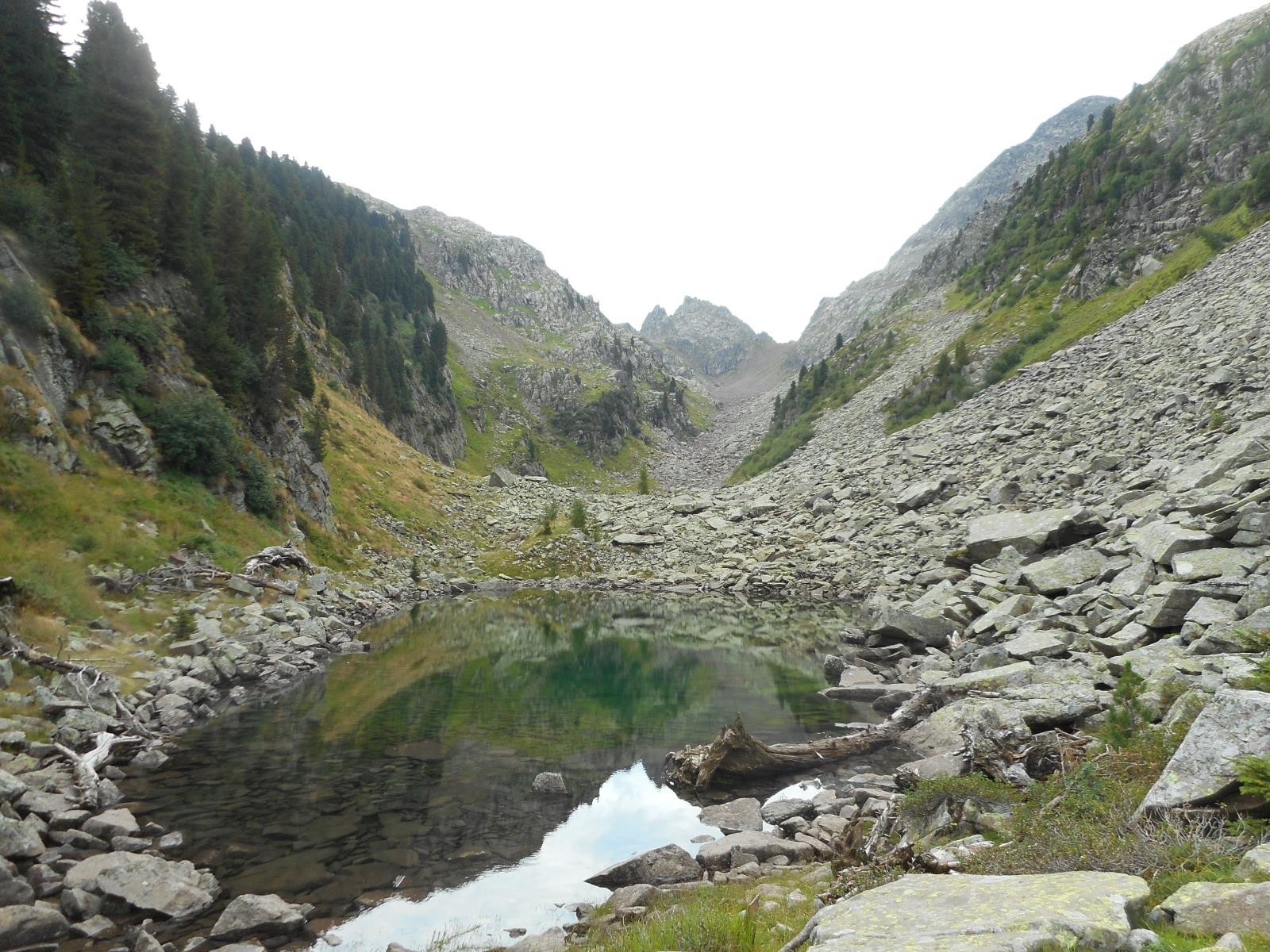 Le Lago di Caserina, massif du Paneveggio