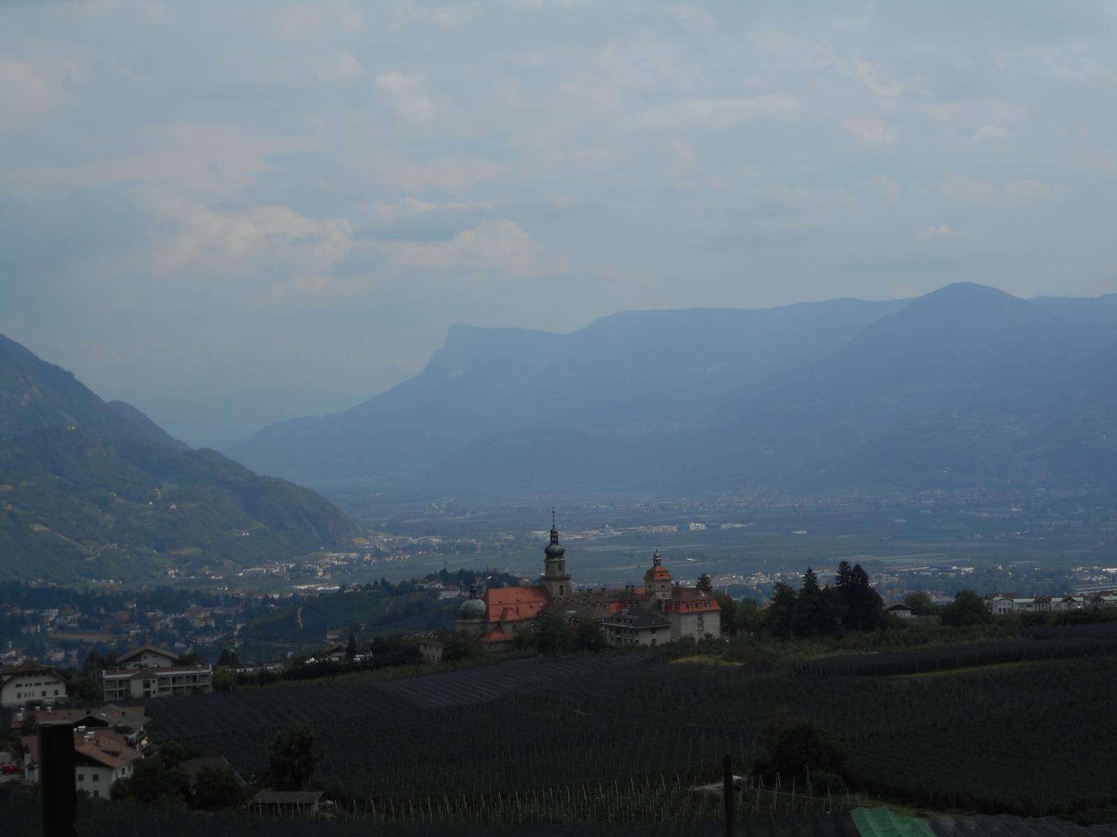 Dörf, Mérano, vallée, chaleur, monde ...