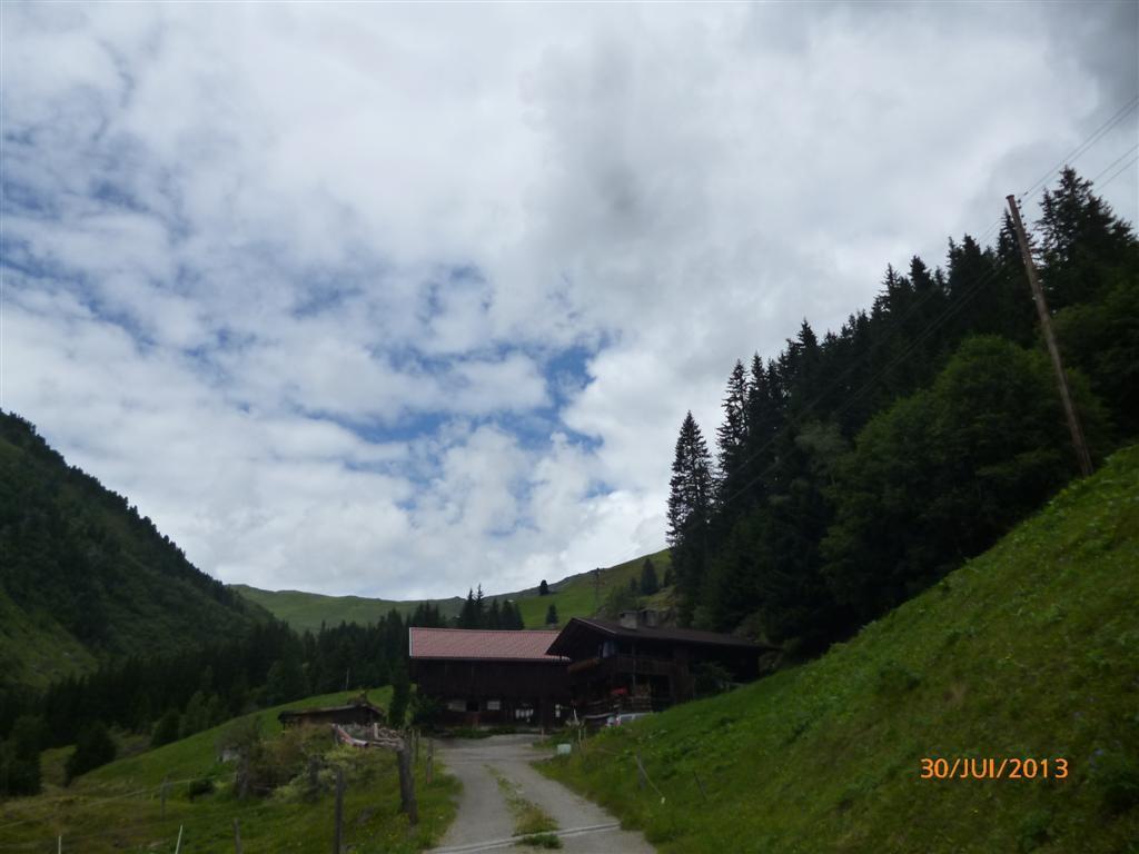 Une belle ferme après Mösl, direction le refuge de Rastkogell