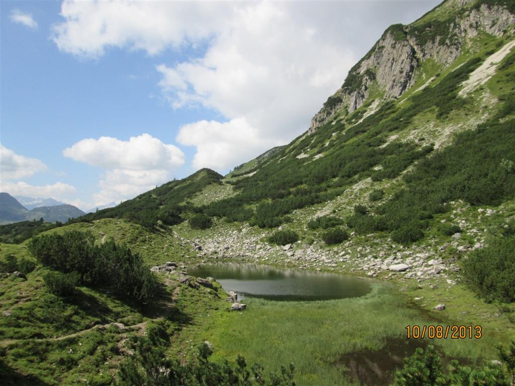 Le petit lac de GuggerSee (1720m)