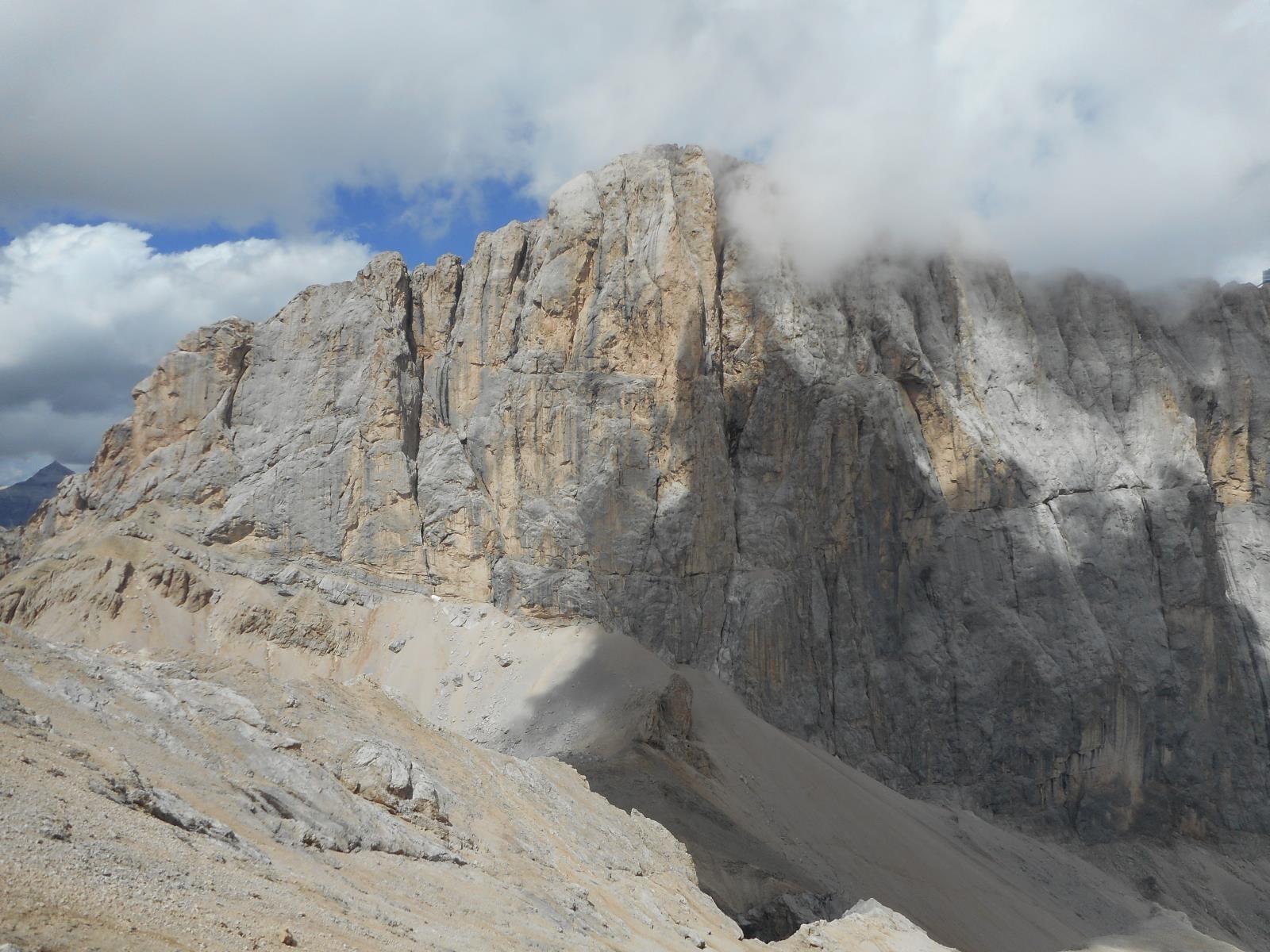 Face Sud de la Marmolada (3343m)