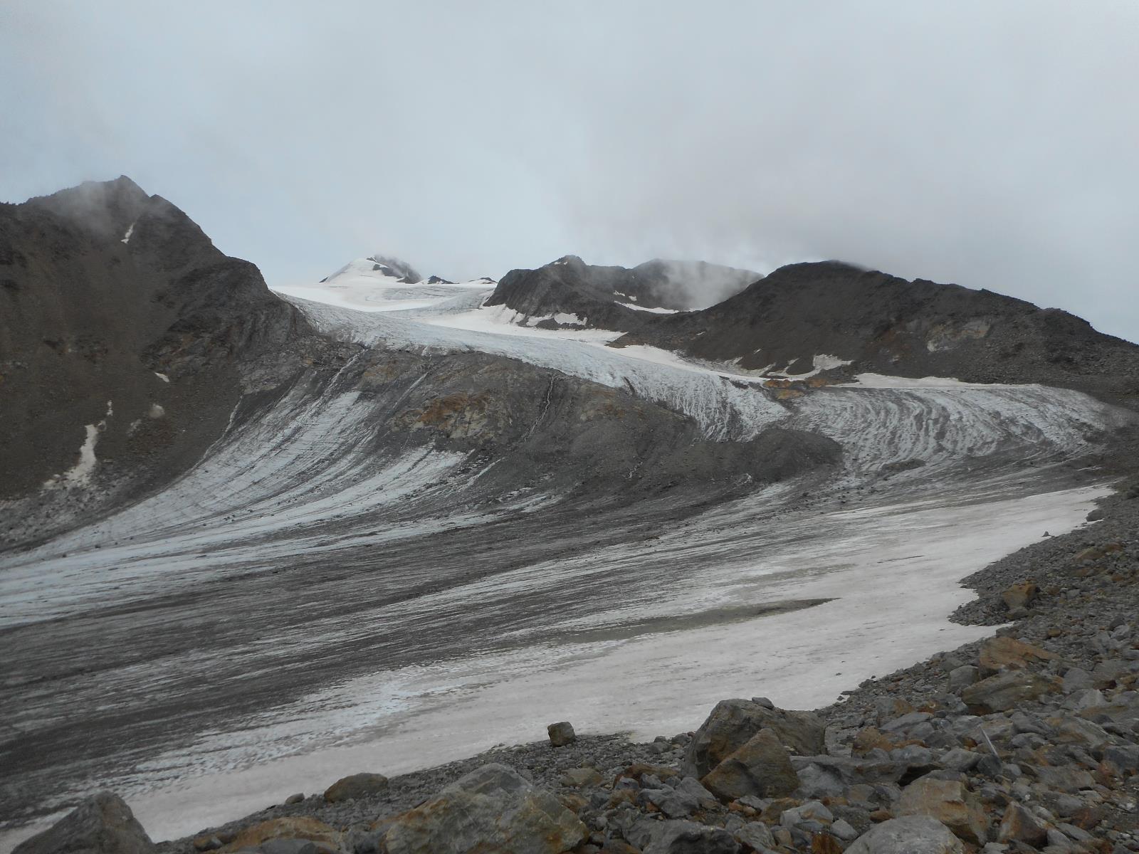 Peau de chagrin de glacier (Niedeer)