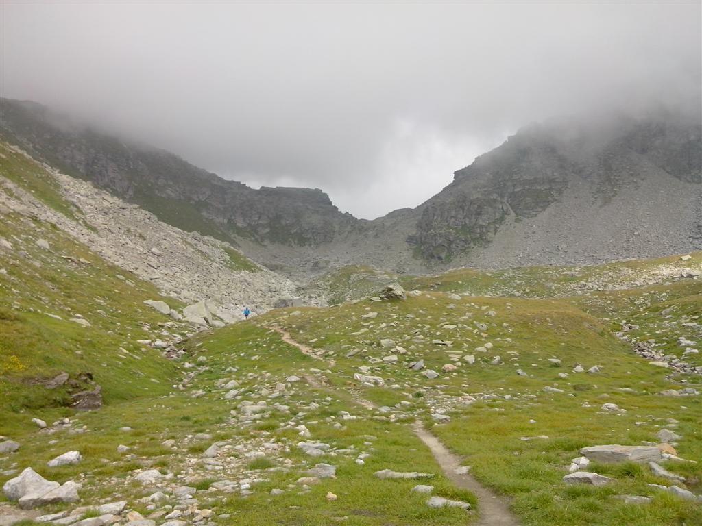 Descente du passo di Val Maggia (2635m)