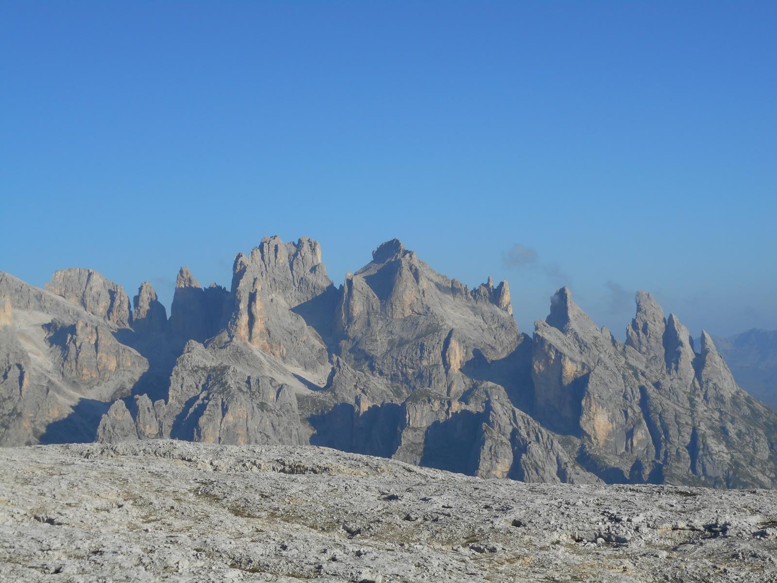 L'altiplano (2600m -> 2700m) du Pale di San Martino