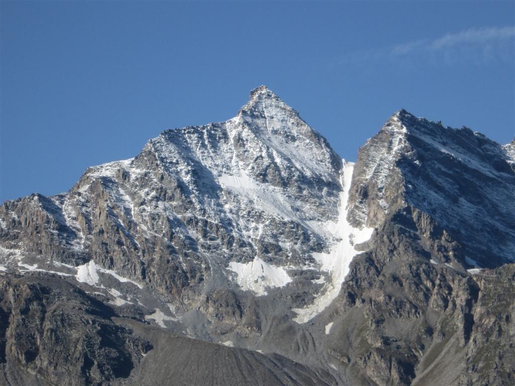 La pointe de Ciarforon (3642m)