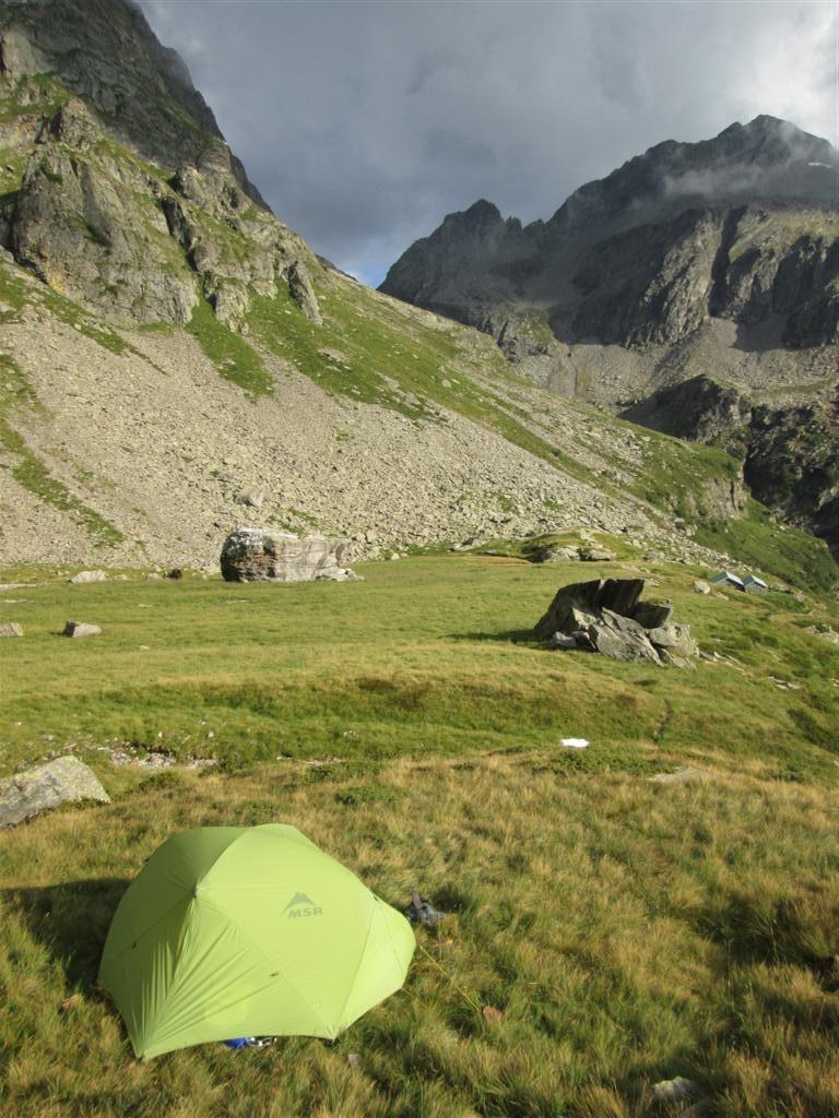 Bivouac sur l'Alpe d'Örx (2087m)