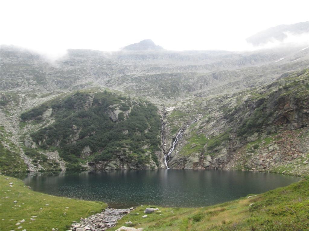 Lago après le passo de Trescolmen (2161m)