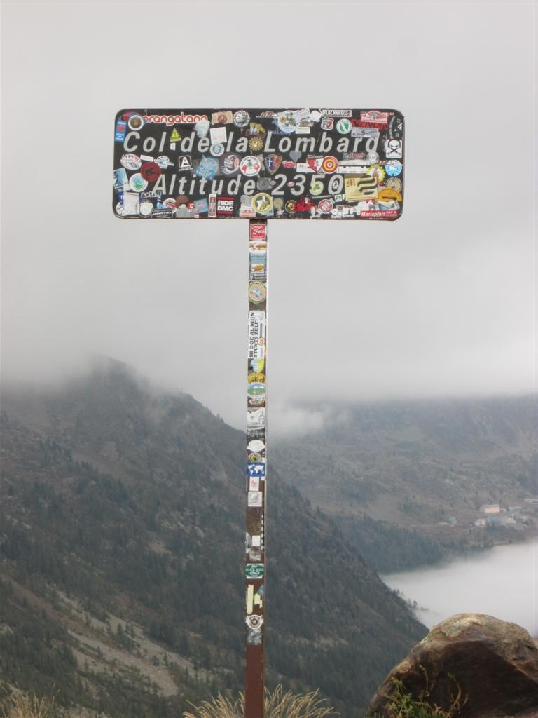 Col de la Lombarde, on bascule en France et on y restera finalement jusqu'au bout !